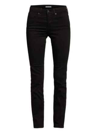 Levis 312 Slim Fit Jeans Damen, Schwarz