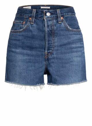 Levi's® Jeans-Shorts Ribcage, Blau