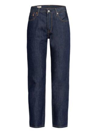 Levis Jeans 501 Original Straight Leg Jeans Damen, Blau