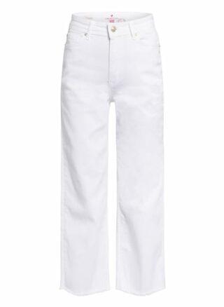 Lieblingsstück Jeans-Culotte Supertrouper, Weiß