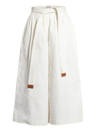 Loewe Jeans-Culotte, Weiß