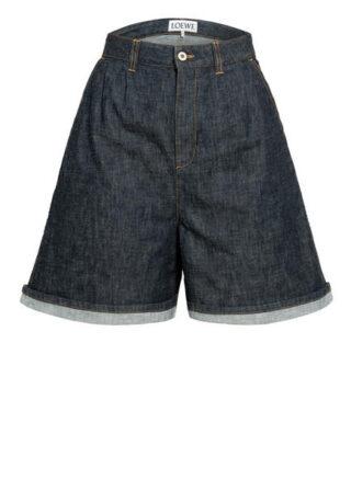 Loewe Jeans-Shorts, Blau