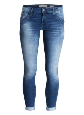 mavi Lexy 7/8 Skinny Jeans Damen, Blau