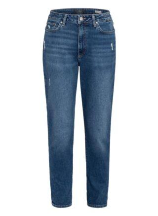 Mavi Mom Jeans, Blau
