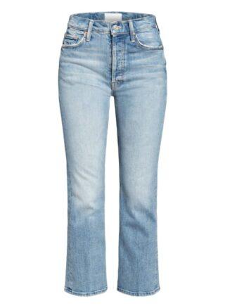 Mother Bootcut Jeans The Tripper, Blau