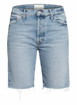 Mother Jeans-Shorts, Blau