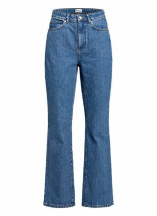Na-Kd Bootcut Jeans, Blau