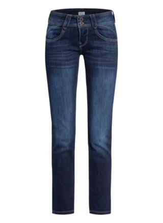 Pepe Jeans Jeans New Gen Straight Leg Jeans Damen, Blau