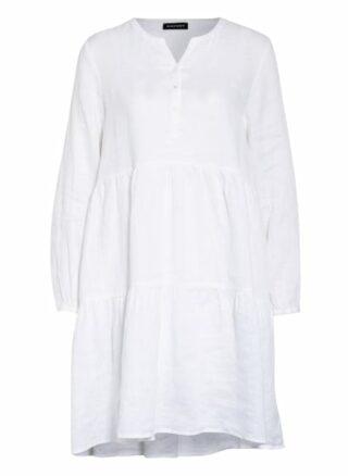 Repeat Leinenkleid, Weiß