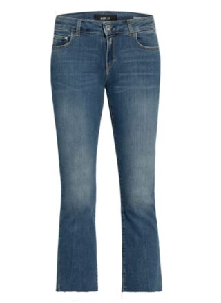 Replay 7/8-Jeans Faaby Flar, Blau