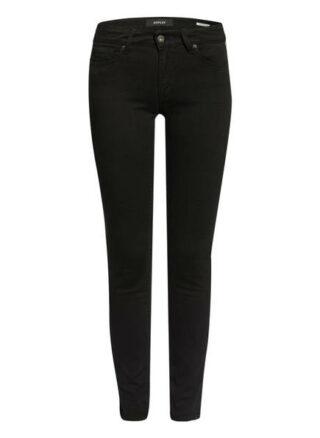 Replay New Luz Skinny Jeans Damen, Schwarz