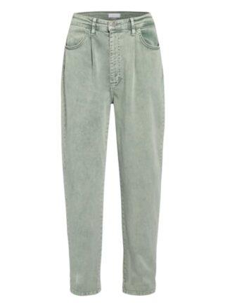 rich&royal Jeans Straight Leg Jeans Damen, Grün