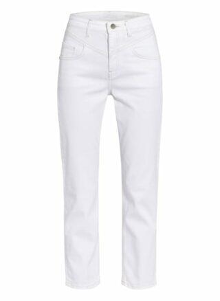 rich&royal Vintage Skinny Jeans Damen, Weiß