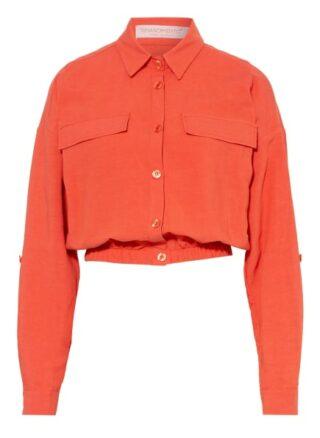 Rinascimento Jacke mit Leinen, Orange