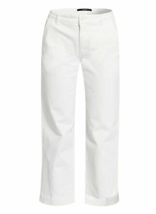 Someday 7/8-Jeans Chenila, Weiß