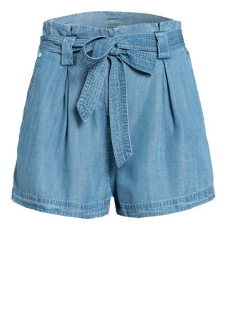 Superdry Paperbag-Shorts Desert, Blau