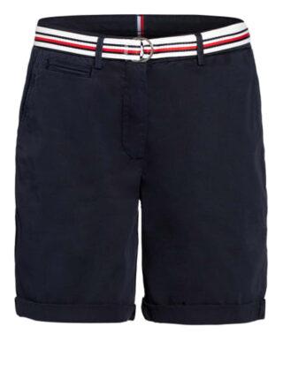 Tommy Hilfiger Shorts Damen, Blau