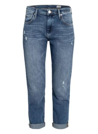 True Religion Boyfriend-Jeans, Blau