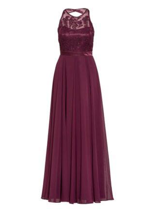 Vm Vera Mont Abendkleid mit Paillettenbesatz, Rot