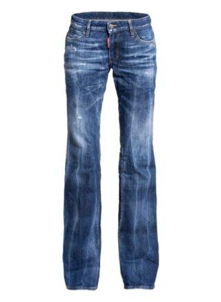 dsquared2 Flared Jeans, Blau