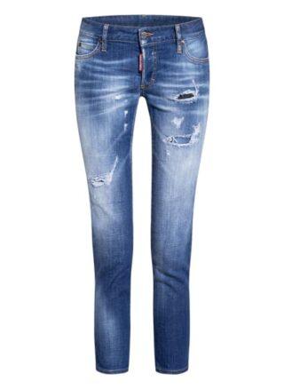 Dsquared2 Jennifer Slim Fit Jeans Damen, Blau