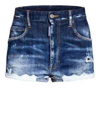 dsquared2 Jeans-Shorts, Blau