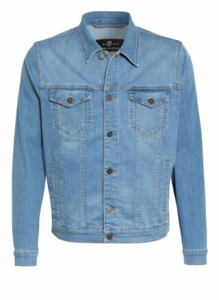 7 For All Mankind Jeansjacke Perfect Jacket blau