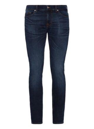 7 For All Mankind Ronnie Skinny Jeans Herren, Blau