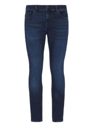 7 For All Mankind Ronnie Eco Skinny Jeans Herren, Blau