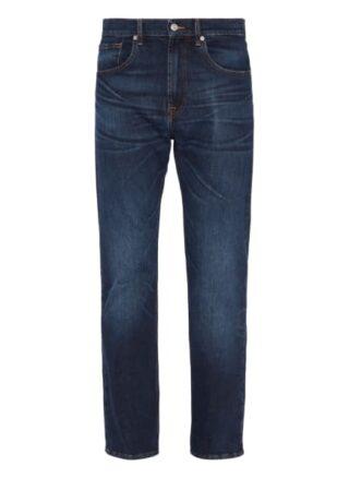 7 For All Mankind Cooper Straight Leg Jeans Herren, Blau
