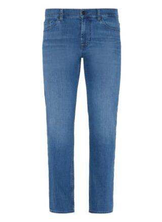 7 For All Mankind Standard Eco Straight Leg Jeans Herren, Blau