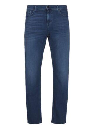 7 For All Mankind Slimmy Straight Leg Jeans Herren, Blau