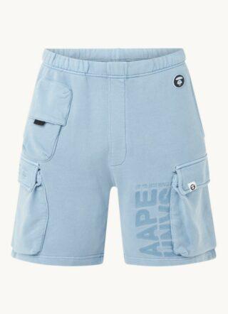 Aape Cargo-Shorts Herren, Blau