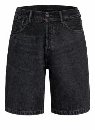 Acne Studios Jeans-Shorts Herren, Schwarz