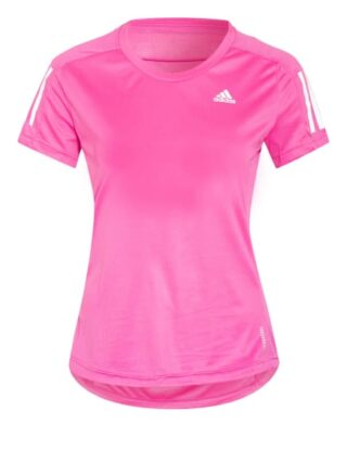 Adidas Laufshirt Own The Run Mit Mesh-Einsätzen pink
