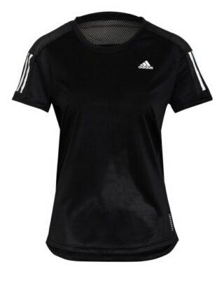 Adidas Laufshirt Own The Run Mit Mesh-Einsätzen schwarz