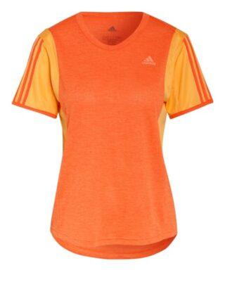 Adidas Laufshirt Own The Run orange