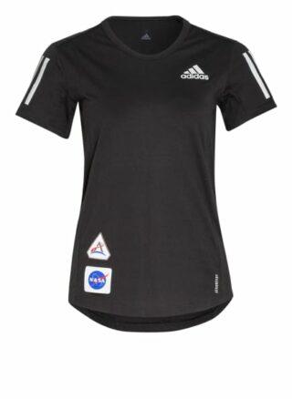 Adidas Laufshirt Run It Space Race Soft schwarz