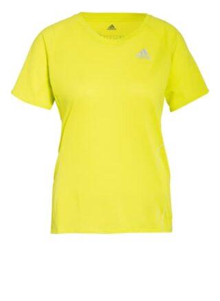Adidas Laufshirt Runner gelb