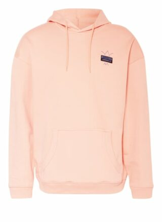 Adidas Originals Oversized-Hoodie R.Y.V. Abstract Trefoil pink