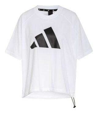 Adidas T-Shirt Sportswear Adjustable Badge Of Sport weiss