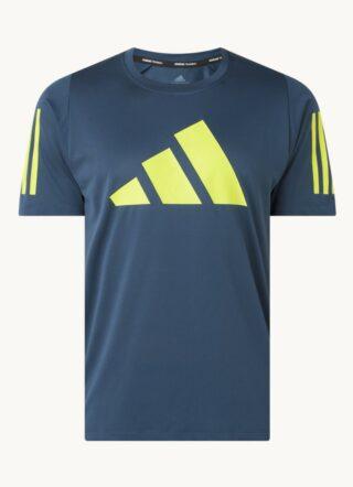 Adidas Trainings-T-Shirt Herren, Bedruckt, Blau