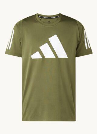Adidas Trainings-T-Shirt Herren, Bedruckt, Grün