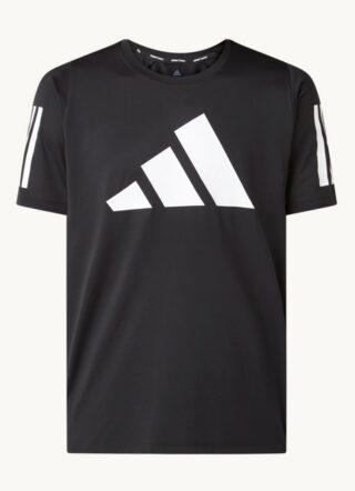 Adidas Trainings-T-Shirt Herren, Bedruckt, Schwarz