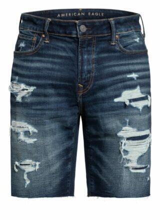 AMERICAN EAGLE Jeans-Shorts Herren, Blau
