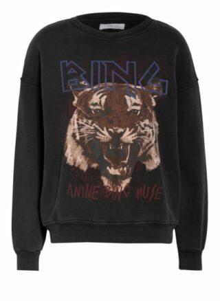 Anine Bing Sweatshirt schwarz