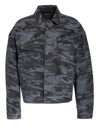 Balenciaga Jeansjacke schwarz