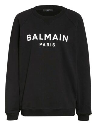 Balmain Sweatshirt schwarz
