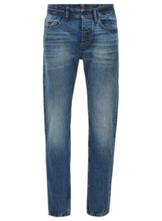 Boss Taber Bc S Tapered Jeans Herren, Blau