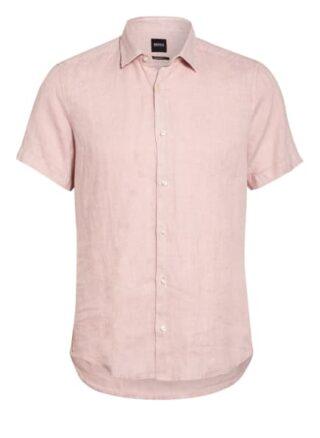 Boss Rash Kurzarm-Hemd Herren, Pink